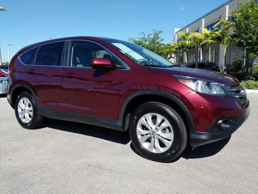 Honda Of Fort Myers >> 2013 Honda Cr V Ex