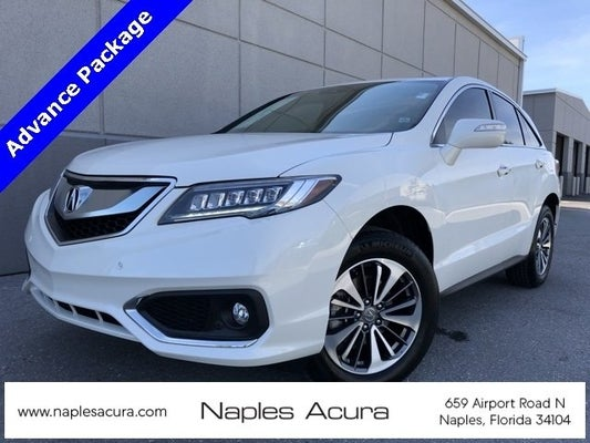 Acura Fort Myers >> 2018 Acura Rdx With Advance Package