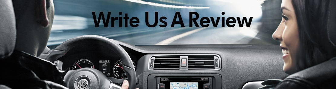 Write A Review | Volkwagen of Naples | VW Dealership